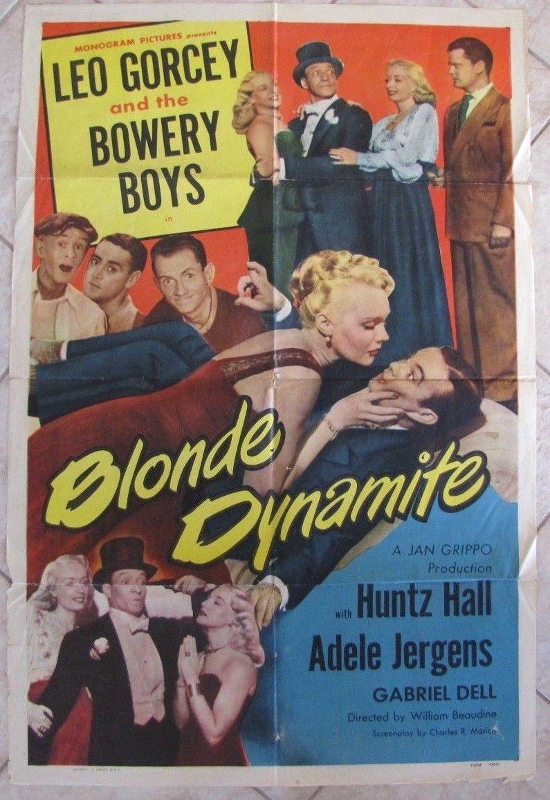 blonde dynamite 1 sheet