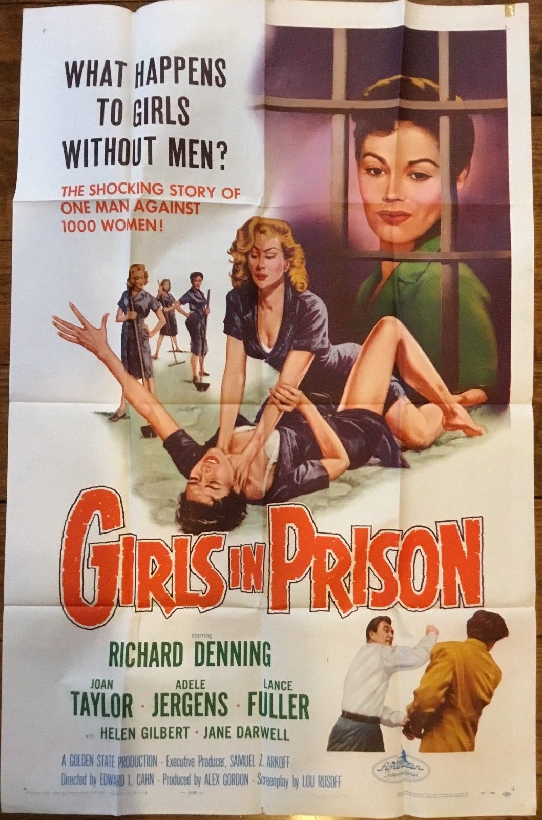 girls in prison 1 sheet