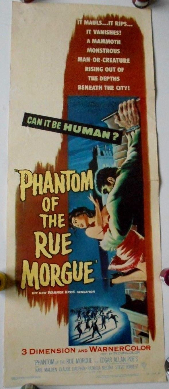 phantom of the rue morgue 3D insert