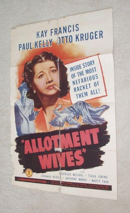 allotment wives 1 sheet