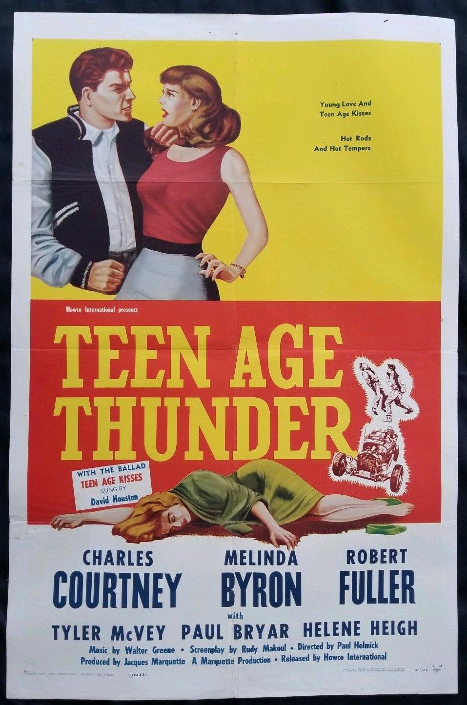 teen age thunder 1 sheet