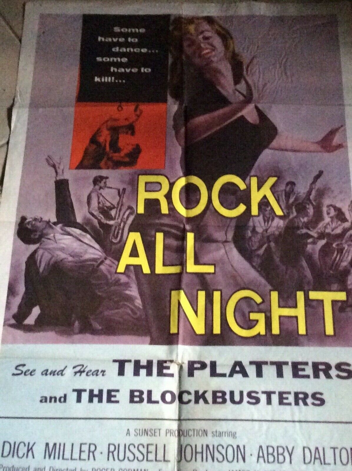 rock all night 1 sheet