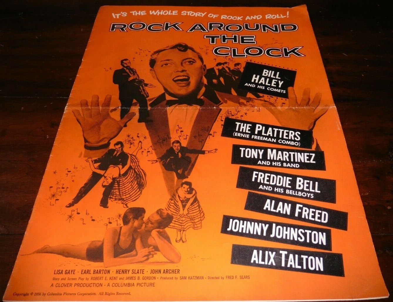 rock around the clock pressbook