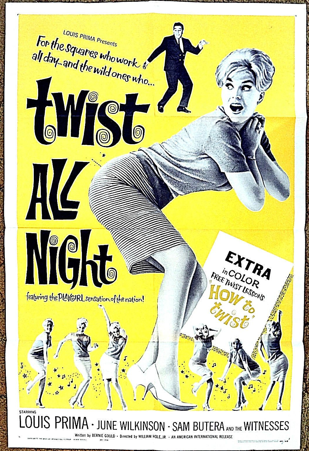 twist all night 1 sheet