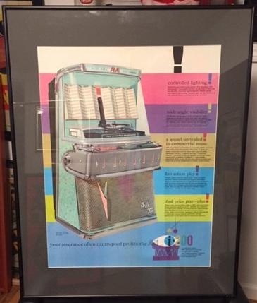 ami i-200 brochure framed