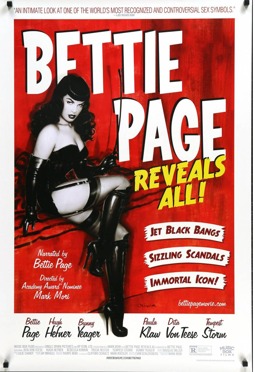 bettie page reveals all 1 sheet 2