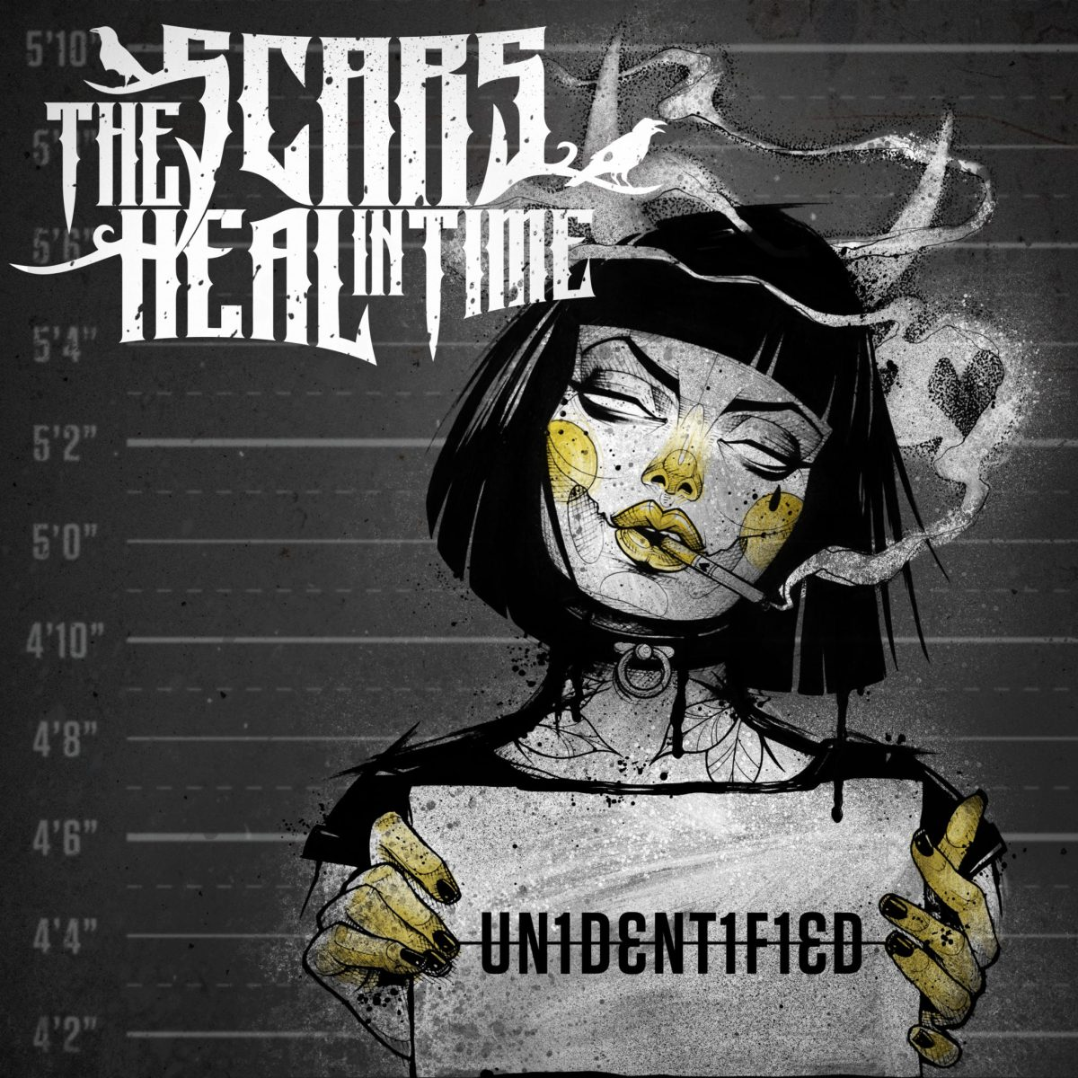 The Scars Heal In Time - Our Review Of The Bands Upcoming Album - UN1DENT1F1ED