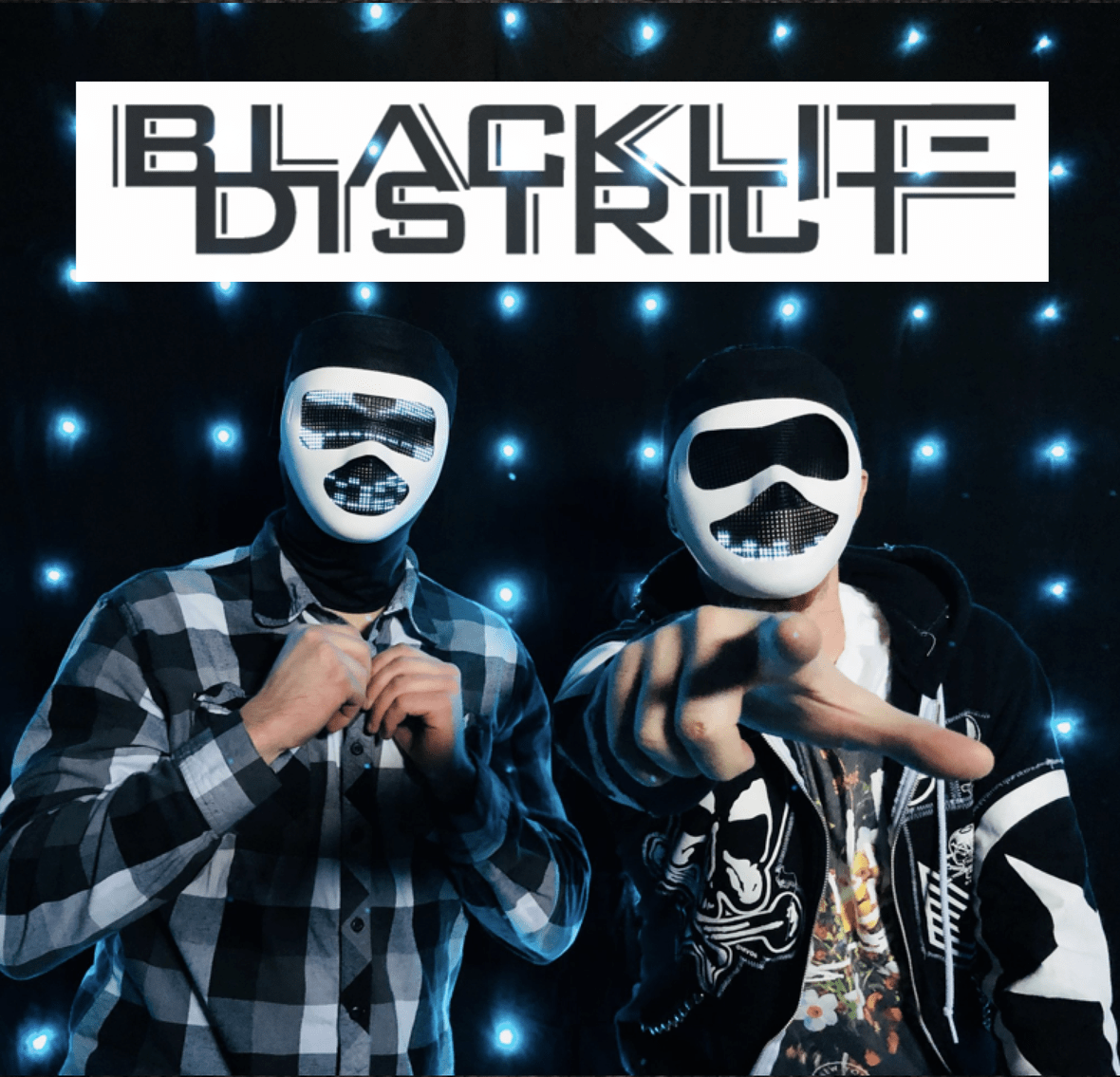 BLACKLITE DISTRICT Announce Tour with FLAW