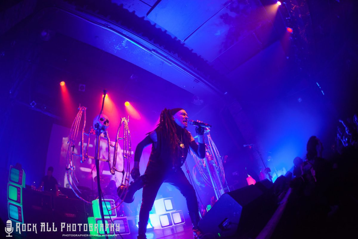 Ministry brought a power-packed show to Cincinnati, Ohio on April 10th, 2018 at Bogarts! Show Review And Photo's