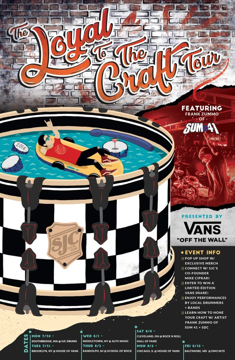 SJC Drums + VANS Announce The Loyal to the Craft Tour