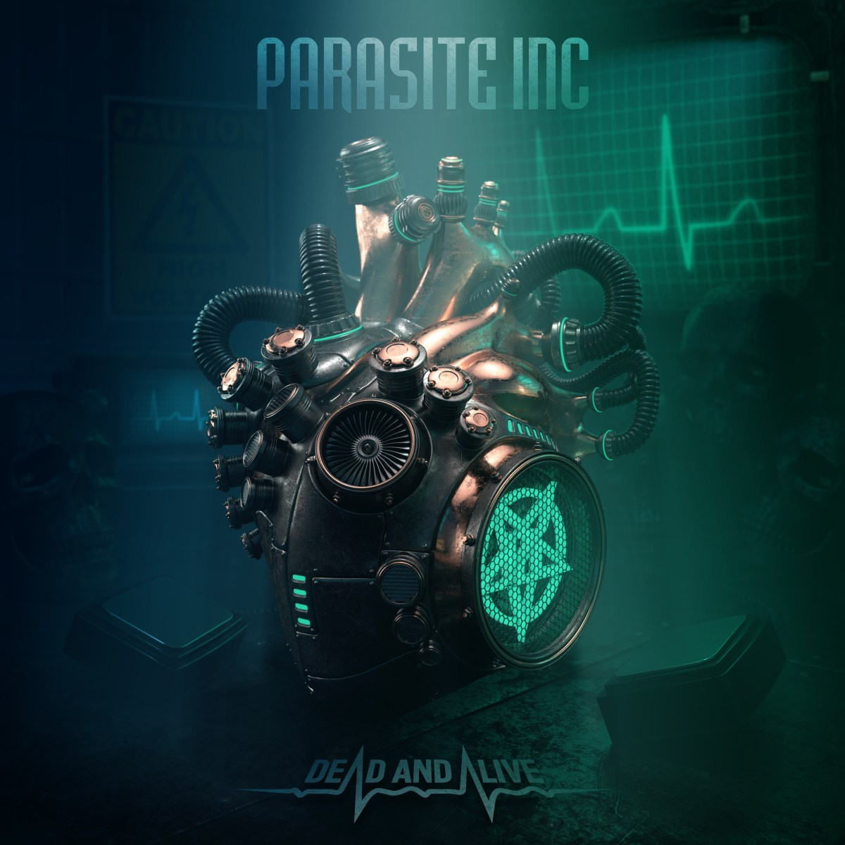 "PARASITE INC. ""Dead And Alive"" Out Now / New Lyric Video Online"