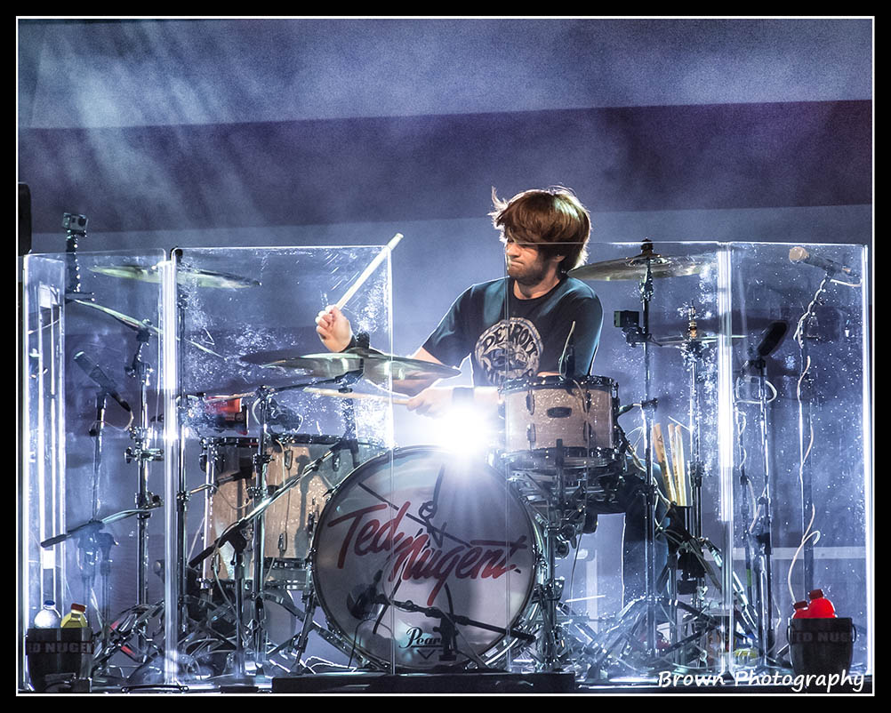 Check out our interview with Jason Hartless! Hard work, dedication and clean living is no stranger to Ted Nugent's current drummer, Jason Hartless, a young 23-year-old in age, but with an old soul.