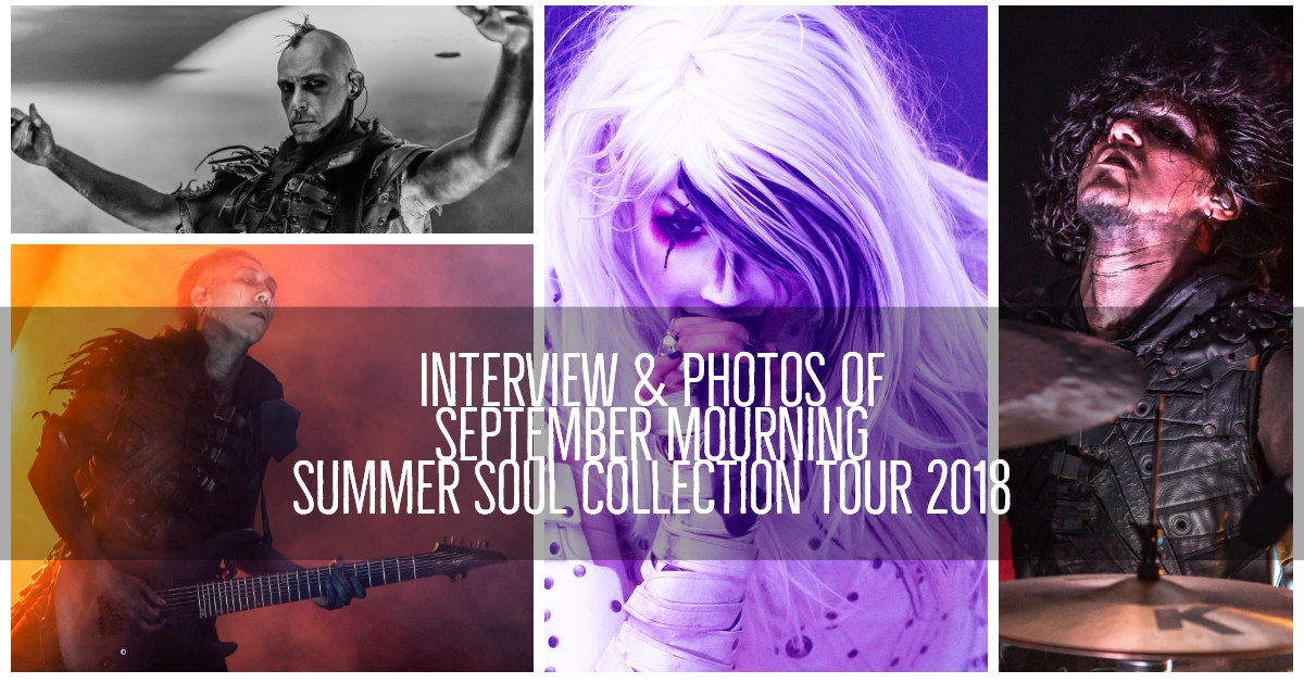 September Mourning brought the 'Summer Soul Collection Tour' to Cincinnati, Ohio! Interviews and Photos of the Show Here!
