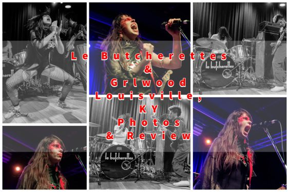 Coverage of Le Butcherettes in Louisville, KY with with Grlwood