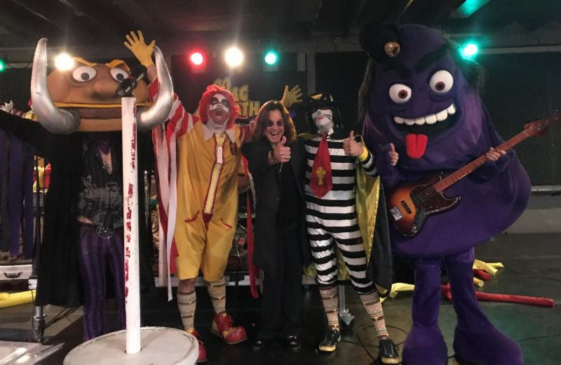 Exclusive New Video Shows Ozzy Osbourne Witnessing MAC SABBATH for the First Time
