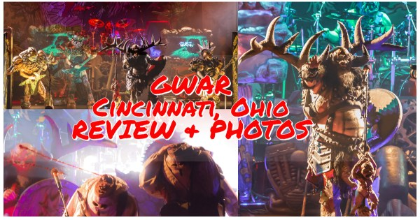 GWAR spreads METAL & BLOOD all over Bogart's in Cincinnati, OH! Check out our coverage of the show here!