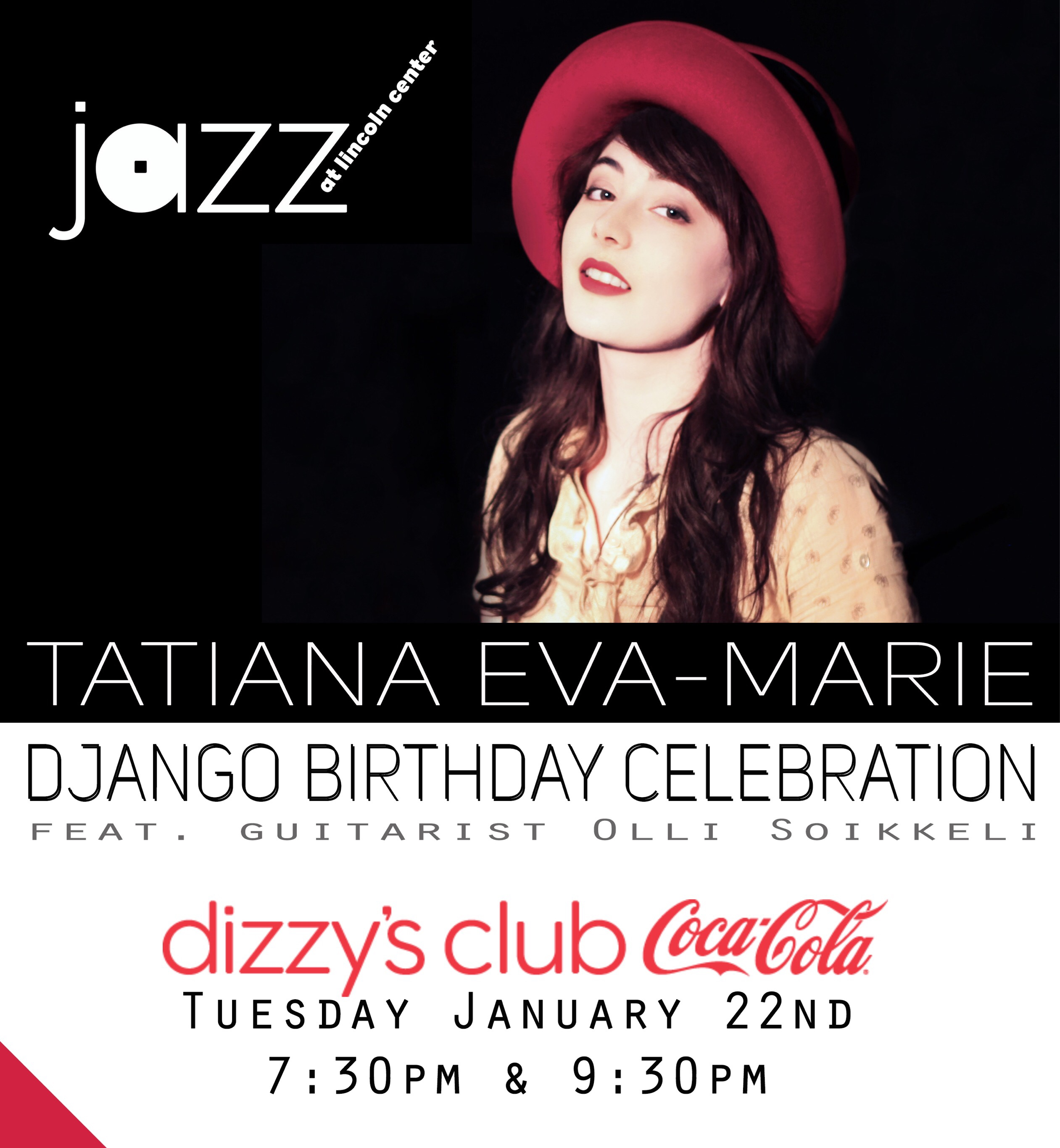 New York Jazz Artist Tatiana Eva Marie And The Avalon Jazz Band Will Be Celebrating Django Reinhardt And His Brand Of Hot Jazz On Tuesday January Nd At