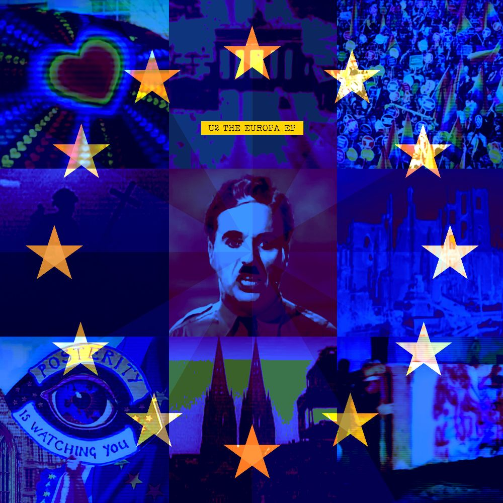 U2: THE EUROPA EP EXCLUSIVELY FOR RECORD STORE DAY 2019