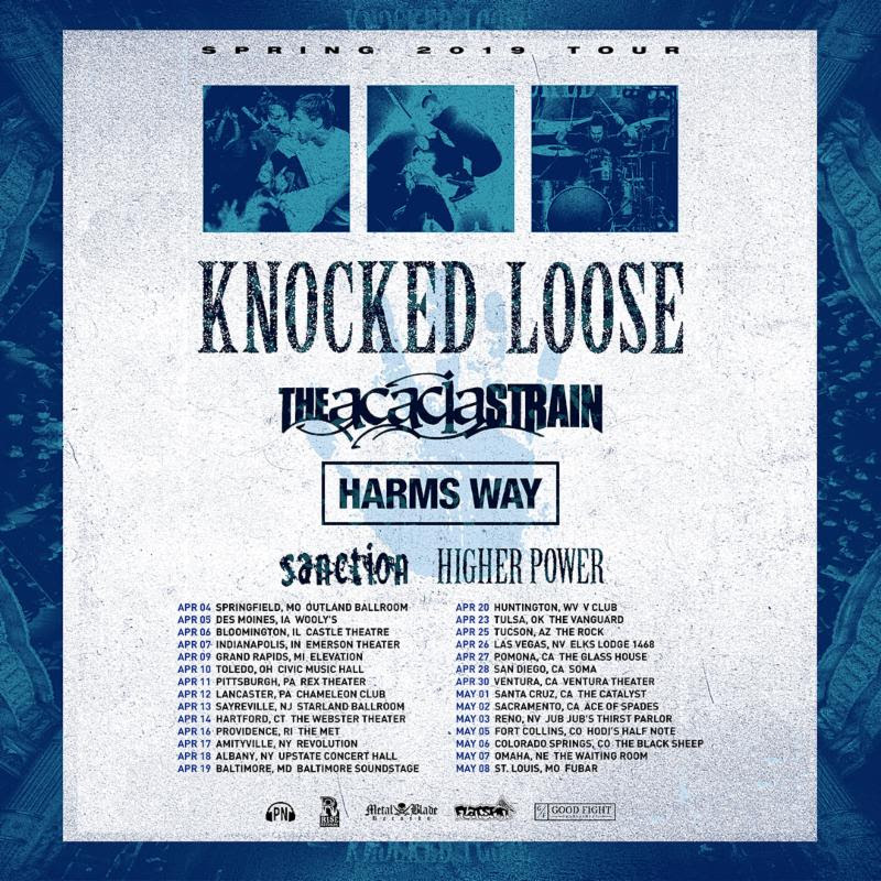 HARM'S WAY To Kick Off US Tour With Knocked Loose Next Week