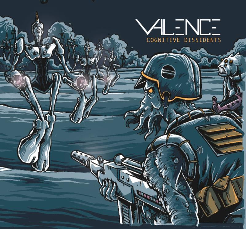"Eclectic Progressive Metal Quartet VALENCE Reveal Full Band Playthrough Video for ""Preferred Nomenclature"""