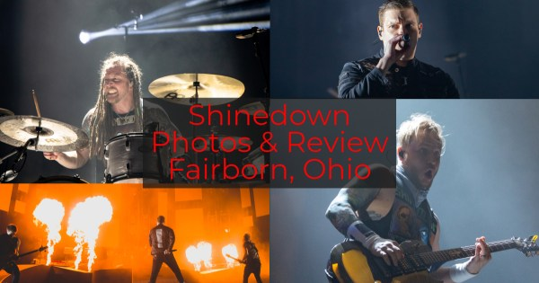 Shinedown Gives Explosive Performance at the WSU Nutter Center in Fairborn, OH