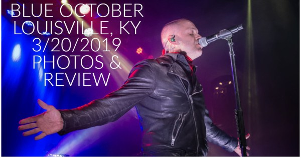 Texas alternative rock band Blue October, who are currently in the midst of The King Tour, made a stop in Louisville, KY! Review & Photos