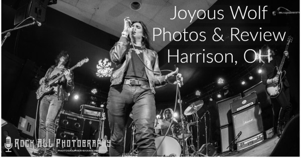 Joyous Wolf brought great Rock & Roll energy to The Blue Note in Harrison, Ohio!