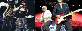 Guns N Roses y The Who en La Plata