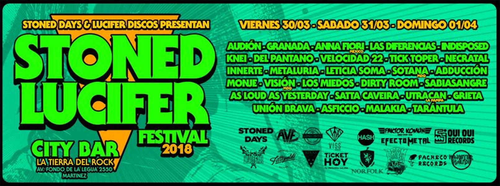 Stoned Lucifer Festival 2018 en la Tierra del Rock / Días 1-2-3
