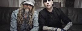 Rob Zombie y Marilyn Manson