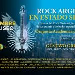 ROCK ARGENTINO EN ESTADO SINFÓNICO EN EL TEATRO COLISEO