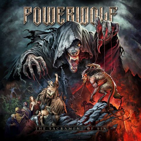 Portada The Sacrament of sin Powerwolf