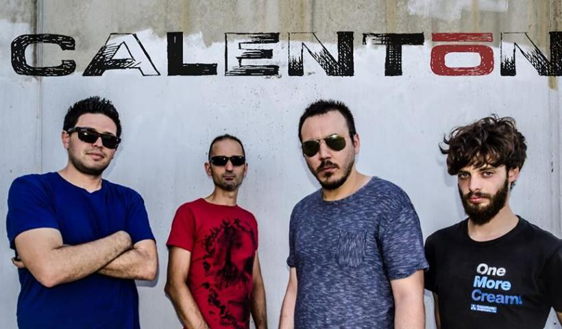 Grupo Calentón rock de Plasencia