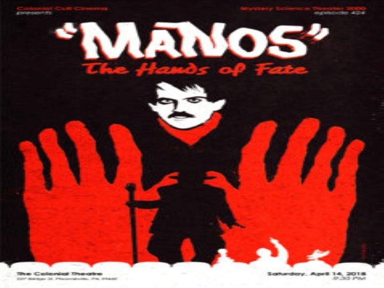 Póster de manos the hand of fate