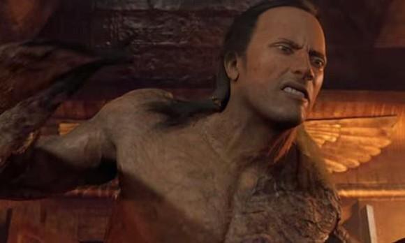 Fotograma de la película el rey escorpión