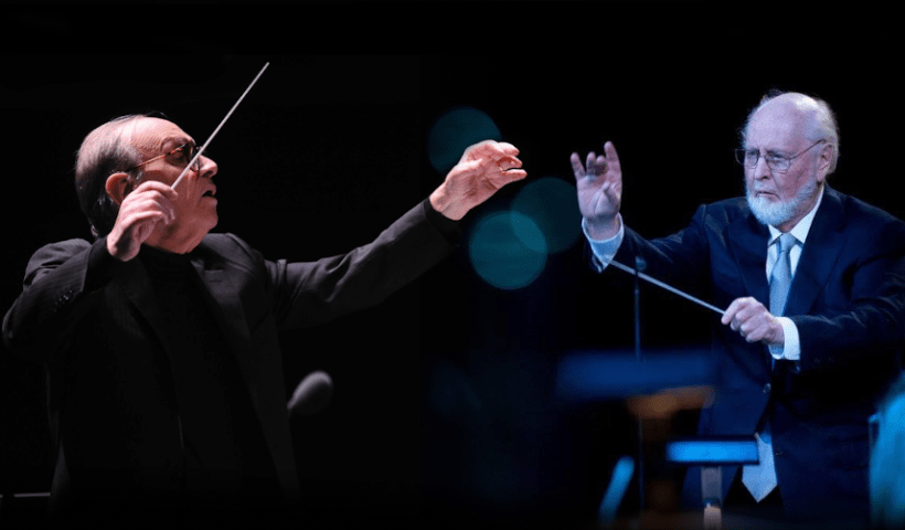 Ennio Morricone y John Williams