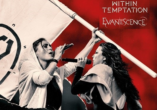 within temptation y evanescence gira europea 2021 worlds collide tour