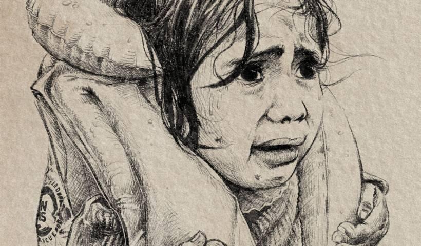 We exist even dead - sea of shame ilustración chimera