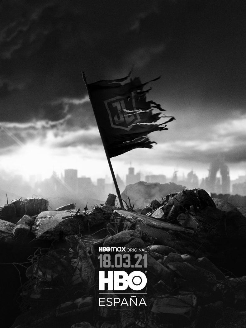 Poster La Liga de la Justicia de Zack Snyder