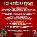 Extremusika tendrá lugar el 8, 9, 10 y 11 de octubre de 2021