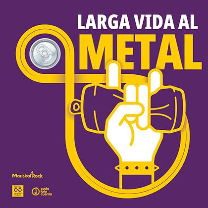 Larga vida al metal SINGLE de Tete Novoa de Saratoga y otros