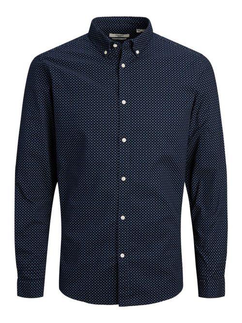 camisa estampada bla logo