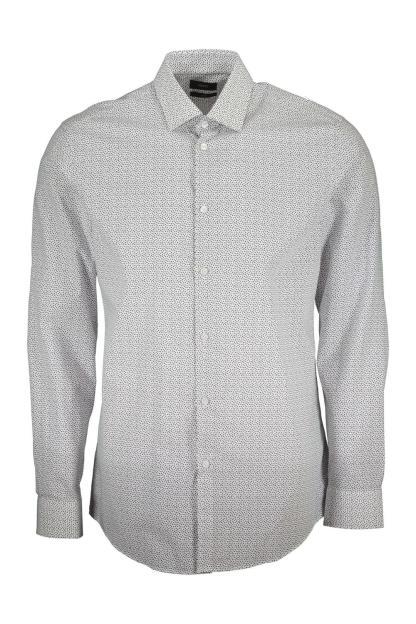 camisa con microlunares