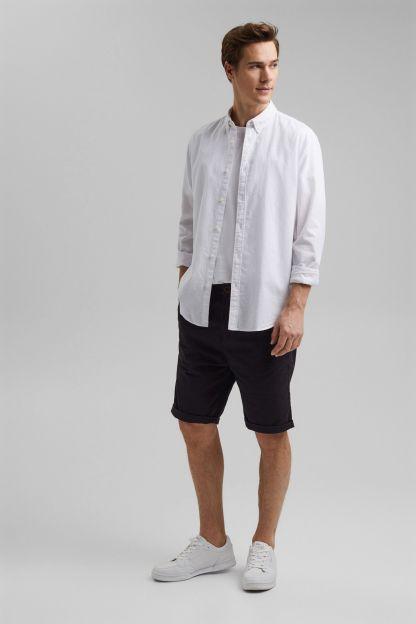 camisa de lino basica