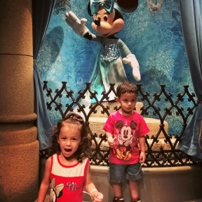 DJ also loves Minnie Mouse