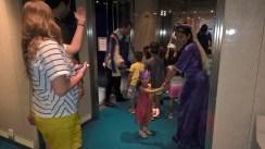 DJ enjoyed the royal kid parade on the boat