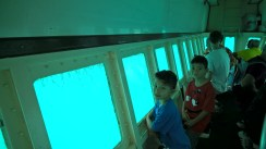 On a semi submarine in Nassau