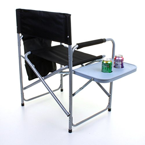 Marko Outdoor Folding Directors Chair Lightweight Portable