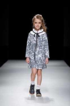First art collar dress Anna for toddlers, kids, girls