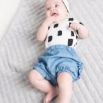 Denim baby, girl, kid, toddler shorts with ruffles